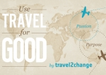 Have an idea on how to make travel more meaningful? Share it with travel2change.