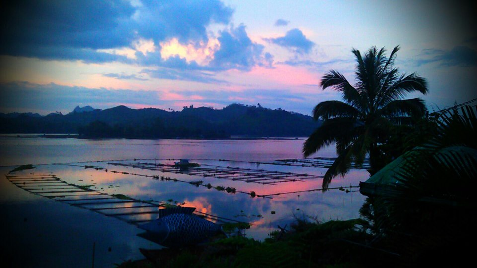 Lake Sebu at dusk