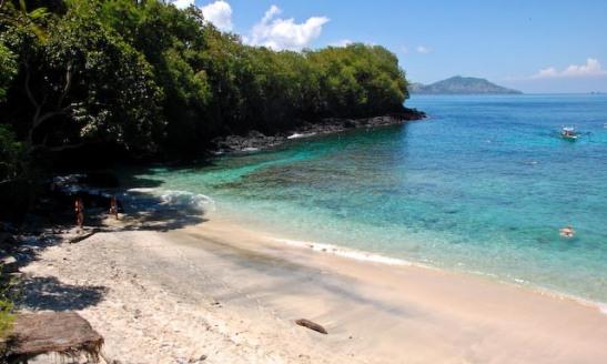 Padangbai Beach on eastern Bali