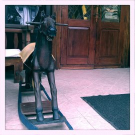 rocking horse (c) Clarice Fong